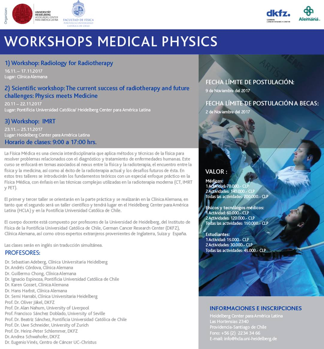 mailing workshops medical physics 20171004